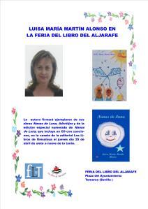 CARTEL FERIA DEL LIBRO DEL ALJARAFE 2013