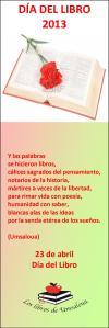 MARCAPÁGINAS DÍA DEL LIBRO 2013